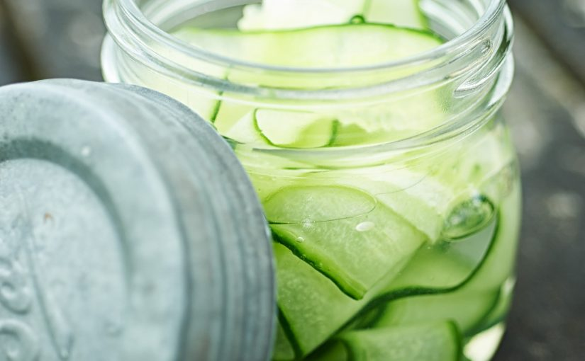 Pickled Cucumber Food styling Picnic Camping props stylist outdoor