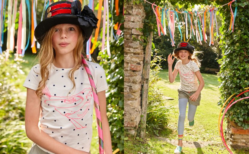 Mini Boden fashion Spring/Summer, circus themed. Hand made props by Claire Morgan