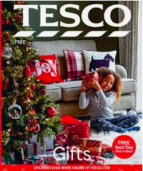Christmas styling Christmas Tree unwrapping presents for Tesco Christams morning