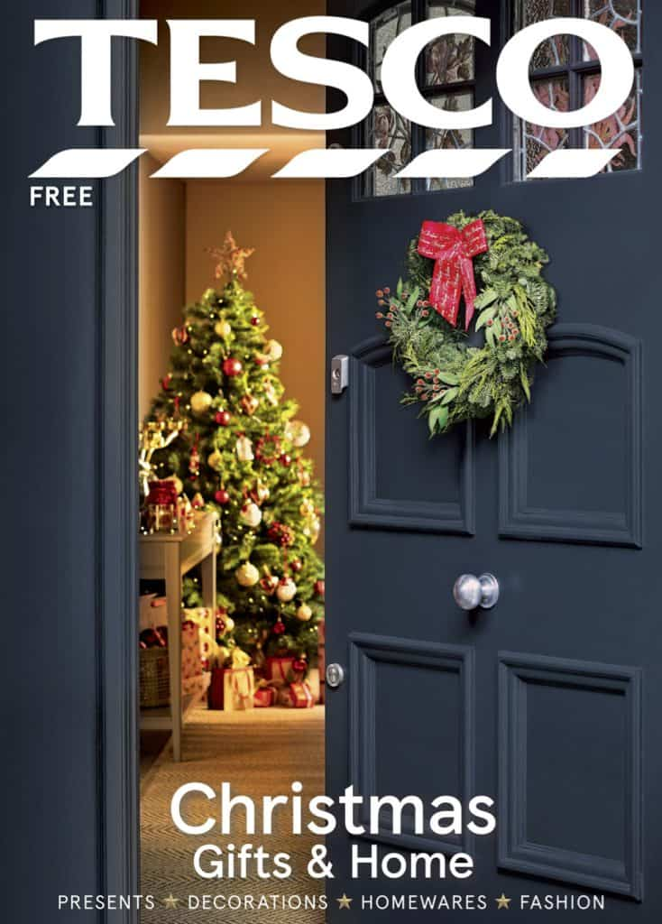 Christmas Front Door wreath gift guide styling Christmas trees front door decorating