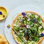 Ocado Life Magazine Summer Tart edible flowers
