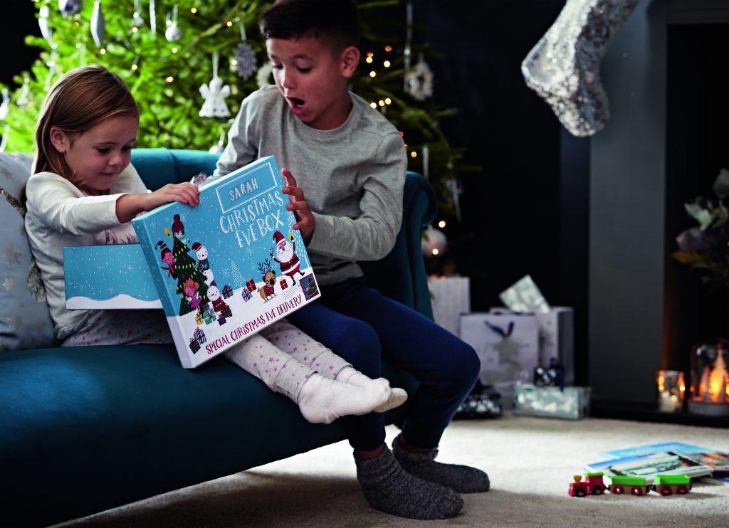 Christmas Eve Box with kids